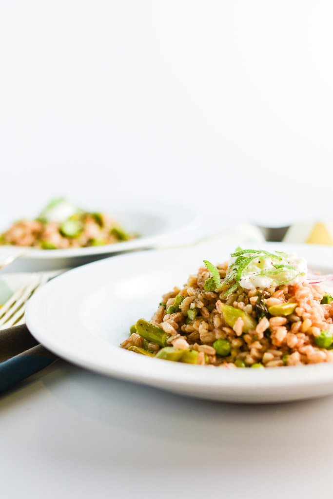 Farro With Spring Vegetables | Things I Made Today