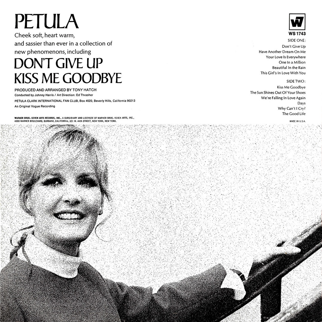 Petula Clark - Don't Give Up