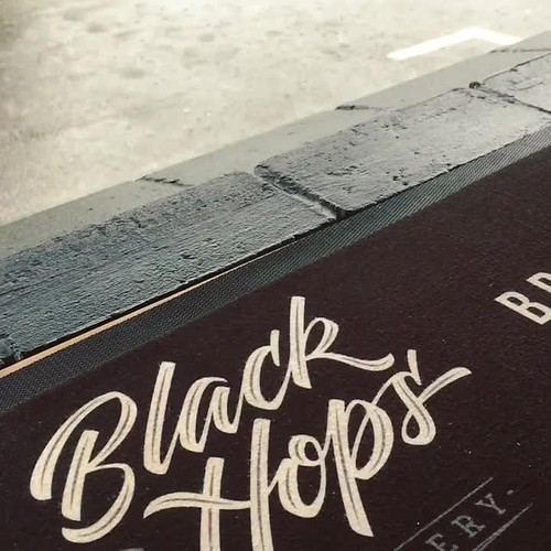 Black Hops brew day