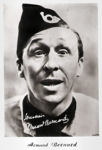 Armand Bernard in La margoton du bataillon (1933)