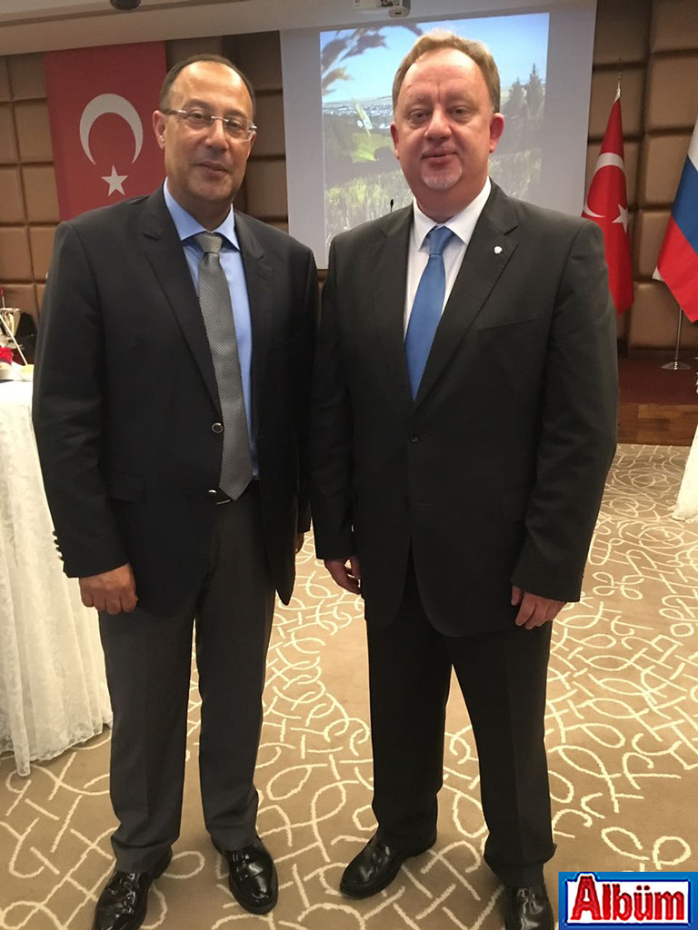 Burhan Sili ve Oleg Rogoza