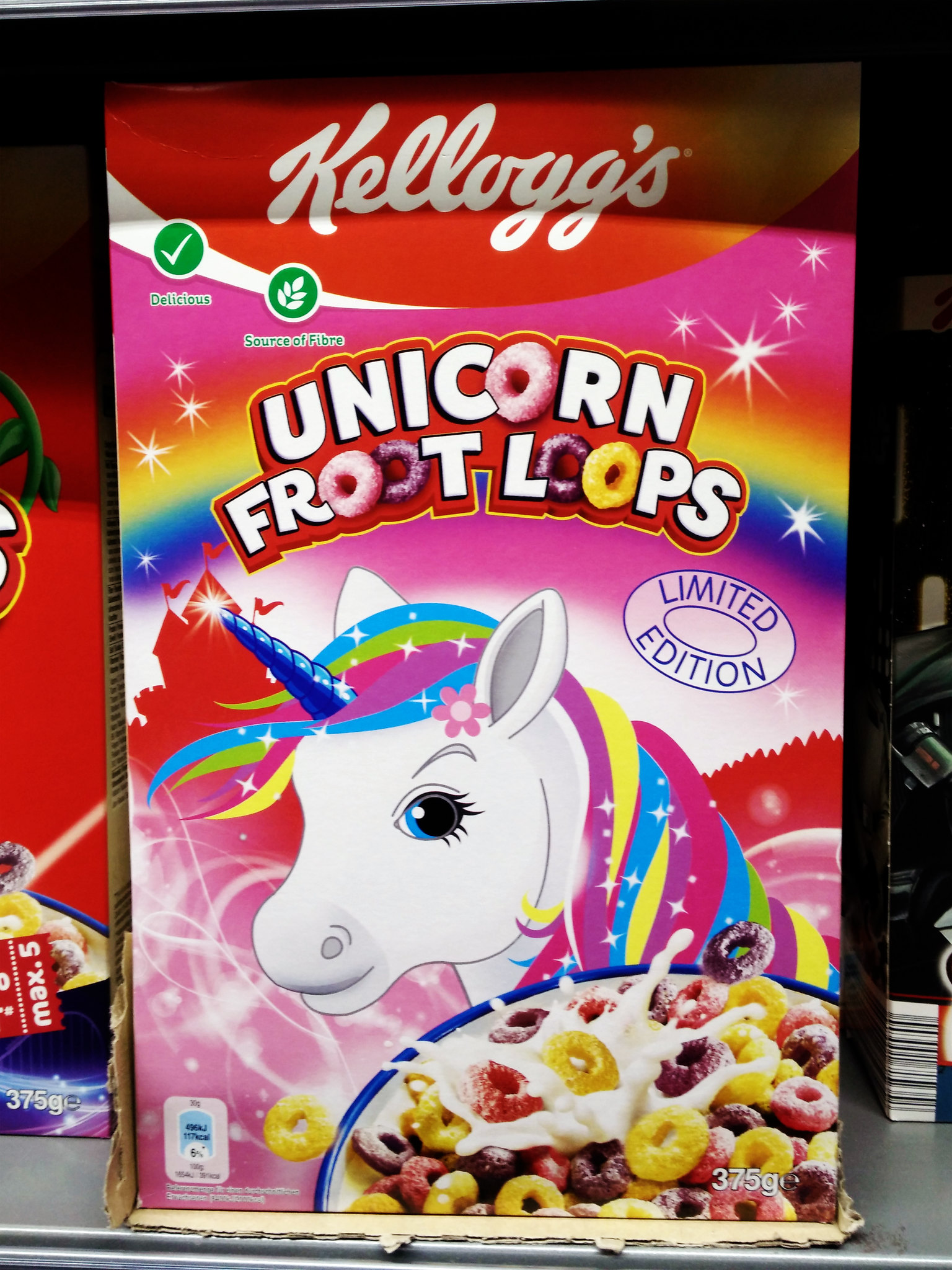 Kellogg's Unicorn Froot Loops (Limited Edition)