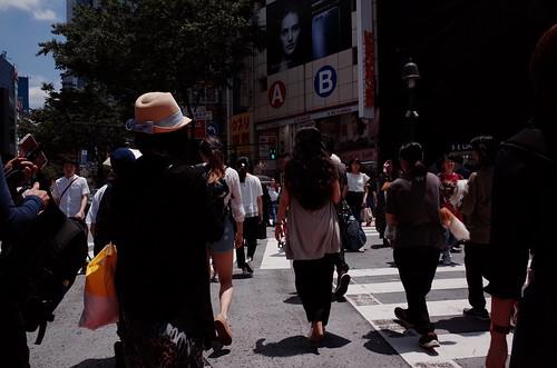 見慣れた街の中で 渋谷 6