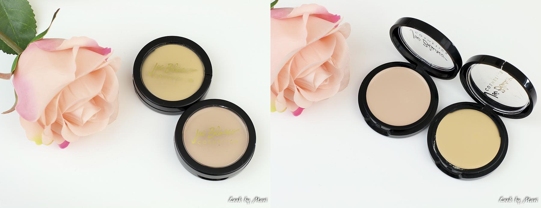 4 joe blasco ultrabase meikkivoide värit sävyt lite olive 1 golden olive 1 kokemuksia