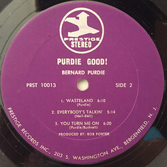 BERNARD PURDIE:PURDIE GOOD!(LABEL SIDE-B)