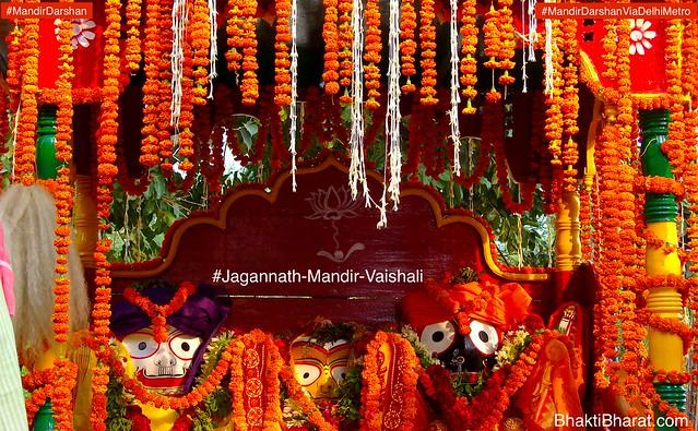 Jagannath Temple Celebrating Rath Yatra Mahostav in Delhi