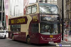Alexander Dennis Enviro400 - LJ09 OKE - DA221 - Big Bus London - London 2017 - Steven Gray - IMG_9558