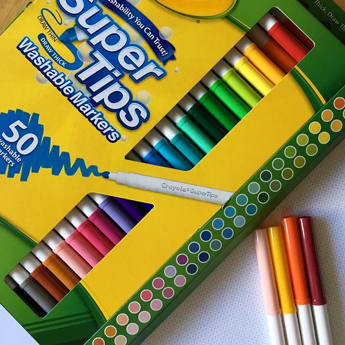 markers used for Color Squared | by -leethal-
