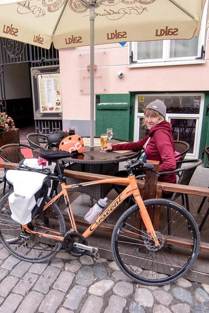 Pyöräilemässä Viron Terviseteellä