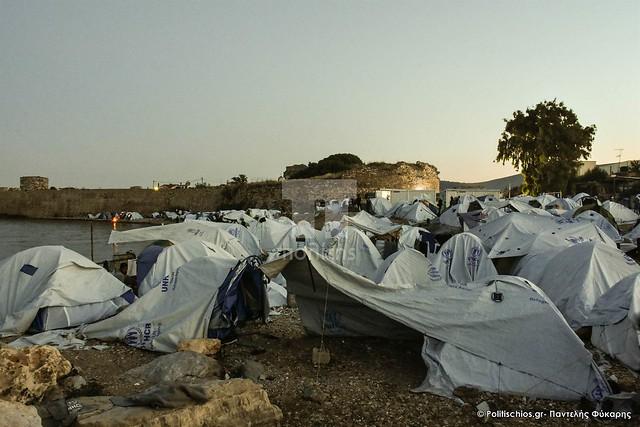 Souda Camp at Chios Island 6.6.2017
