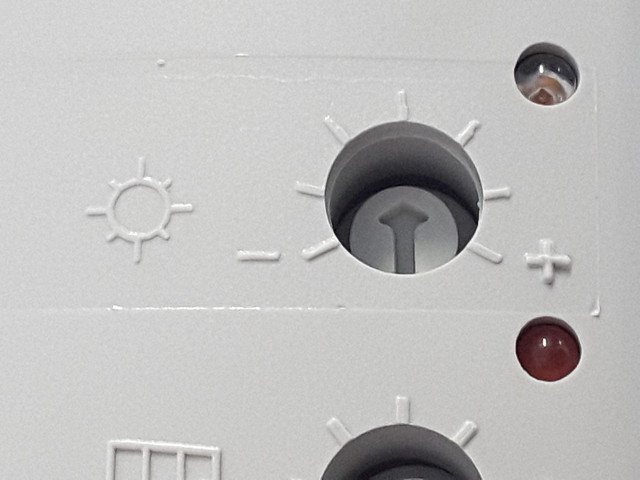 Potenziometro sole sensore Somfy Eolis/Soliris RTS