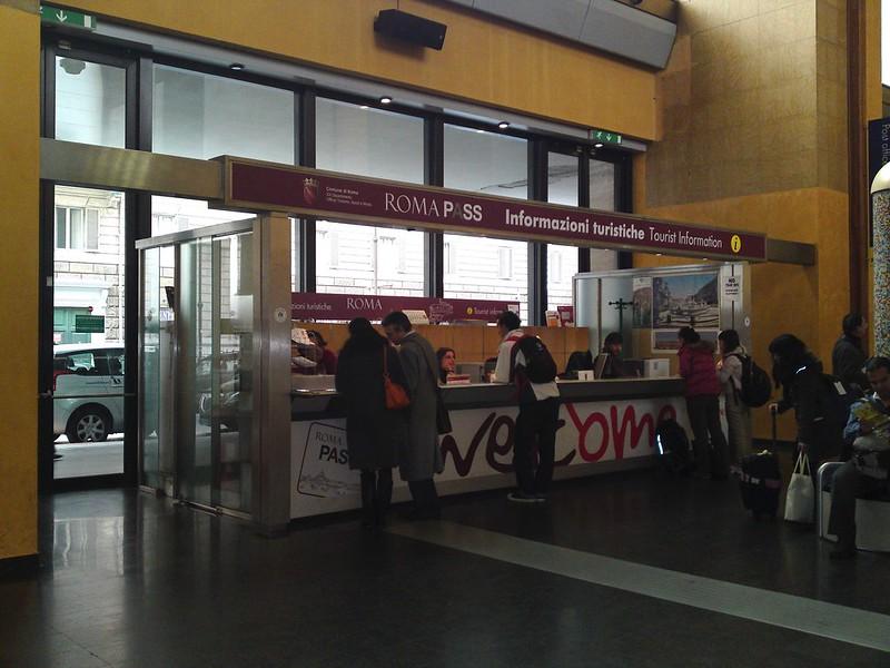 Ponto de Informação Turística Estação Termini