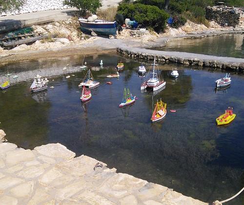 Greek model boats
