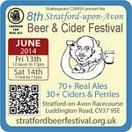Stratford Beer Festivsl 2014