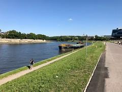 Along the Vistula River