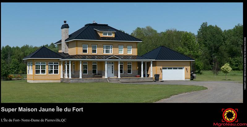 Super Maison Jaune Île du Fort