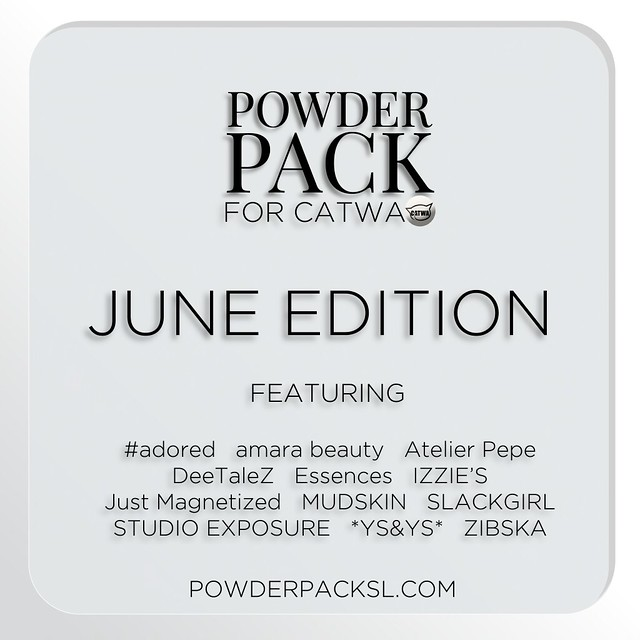 Powder Pack Catwa June Edition