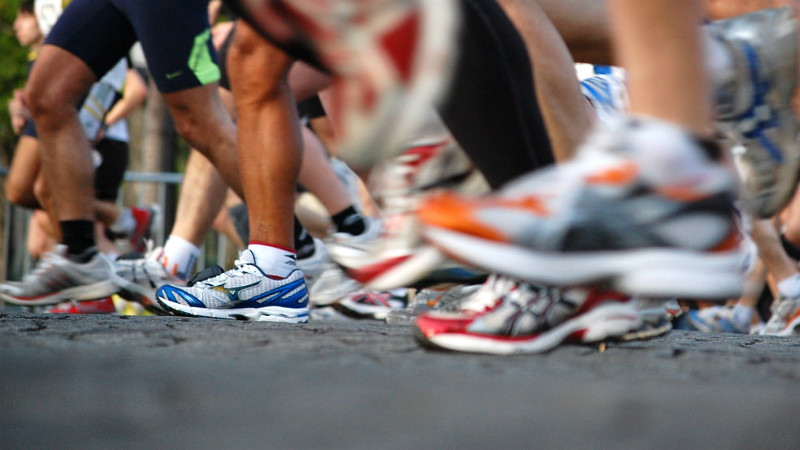 Running Shoes Josiah Mackenzie, CC BY