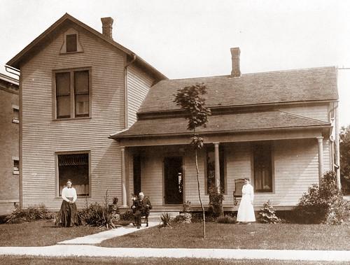 Charles T Casbon House Valpraiso Indiana