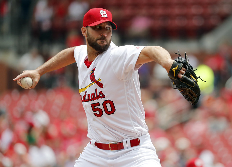 Adam Wainwright。(達志影像資料照)