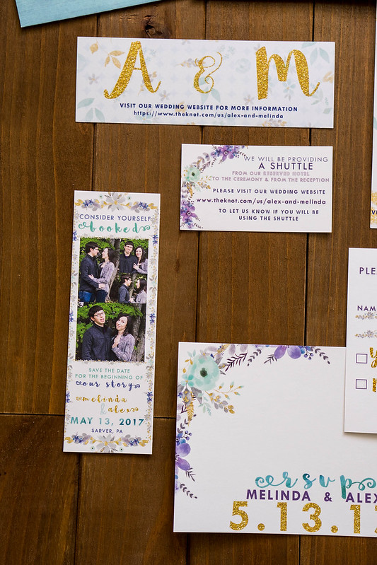 Wedding Stationary | cookingalamel.com