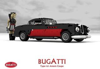 Bugatti Type 101 Antem Coupe - 101504