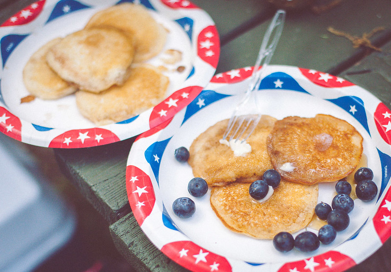 Camping Pancakes