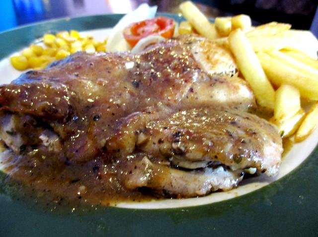 Le Cafe chicken chop