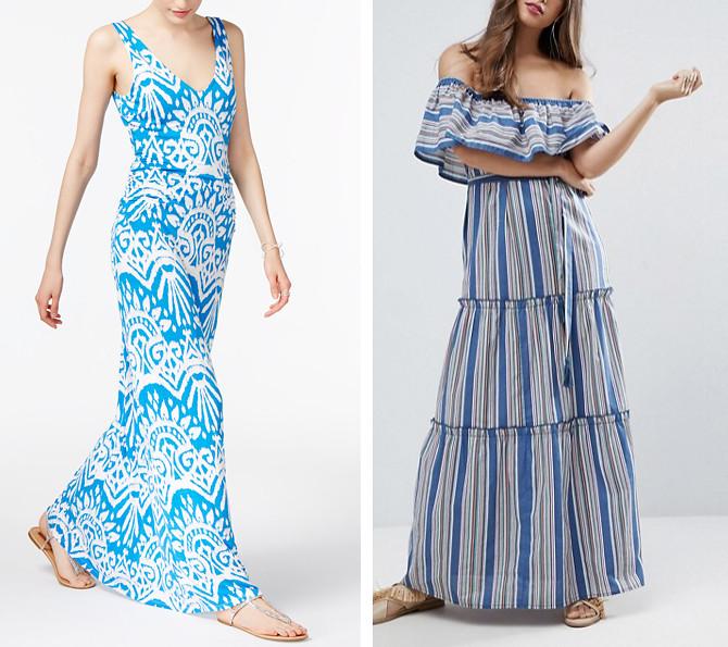 colorful summer petite maxi dresses asos loft macys