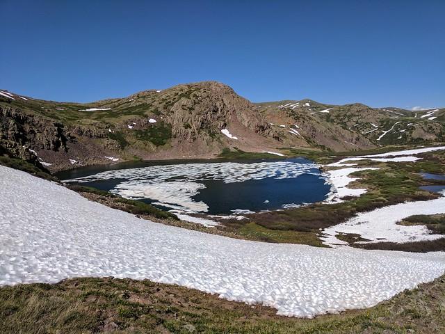 Lost Lake is kinda frozen