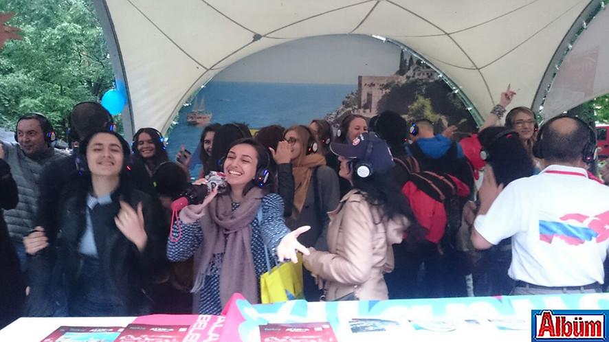 Moskova Krasnaya Presnya Parkı Türkiye Festivali15