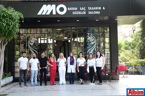 MO Bayan Saç Tasarım & Güzellik Salonu ekibi