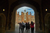 London - Hampton Court Palace entrance