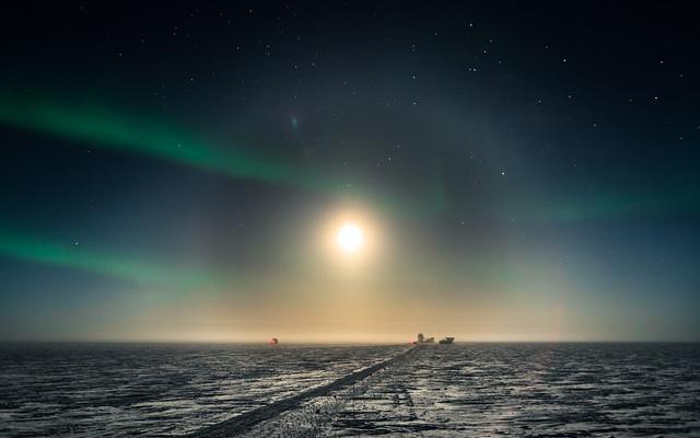 Moon Halo over DarkSector