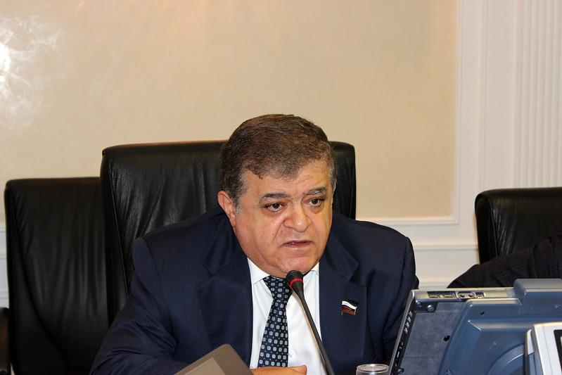 Владимир Джабаров, первый заместитель председателя Комитета Совета Федерации по международным делам, представитель от законодательного органа государственной власти Еврейской автономной области