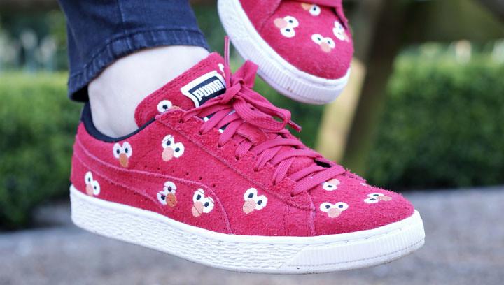 Puma trainers with Elmo