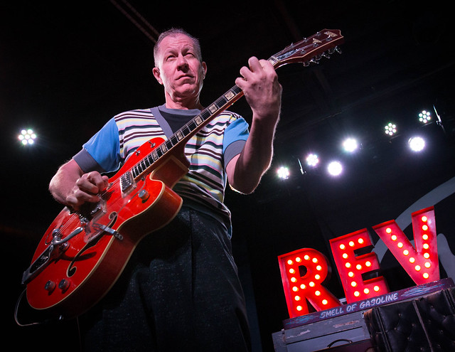 The Reverend Horton Heat (with Agent Orange and Flat Duo Jets) at the Ready Room, June 15, 2017
