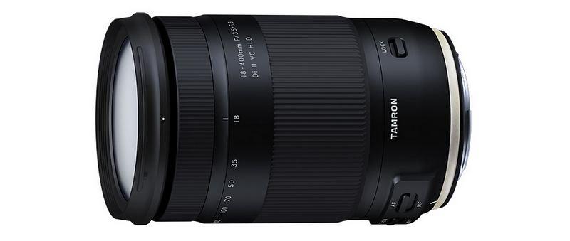 L'objectif zoom Tamron 18-400mm f/3.5-6.3 a été officiellement annoncé