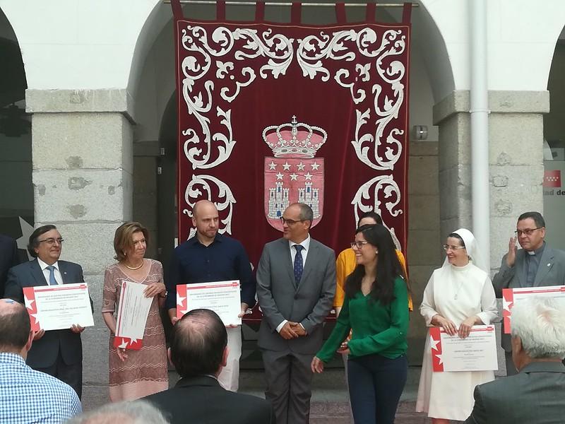 """Acto de reconocimiento a la trayectoria del colegio """"Fundación Santa Rita"""""""