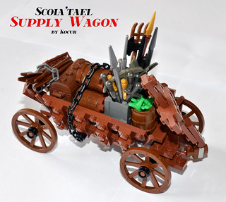 Scoia'tael Supply Wagon 01 Overview | by kocurvelox