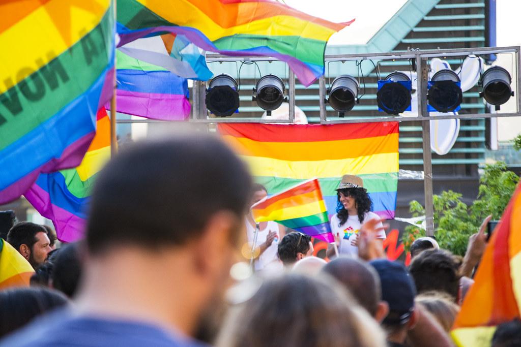 Manifestación Orgullo LGTBI 2017 Vigo