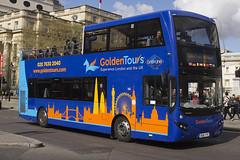 Volvo B5TL MCV eVoSeti - BD16 YFE - 140 - GoldenTours Grayline - London 2017 - Steven Gray - IMG_8720