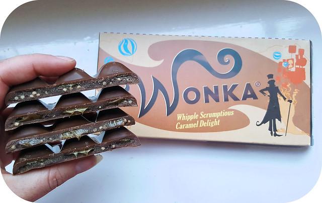 Wonka Whipple Scrumptious Caramel Delight Bar