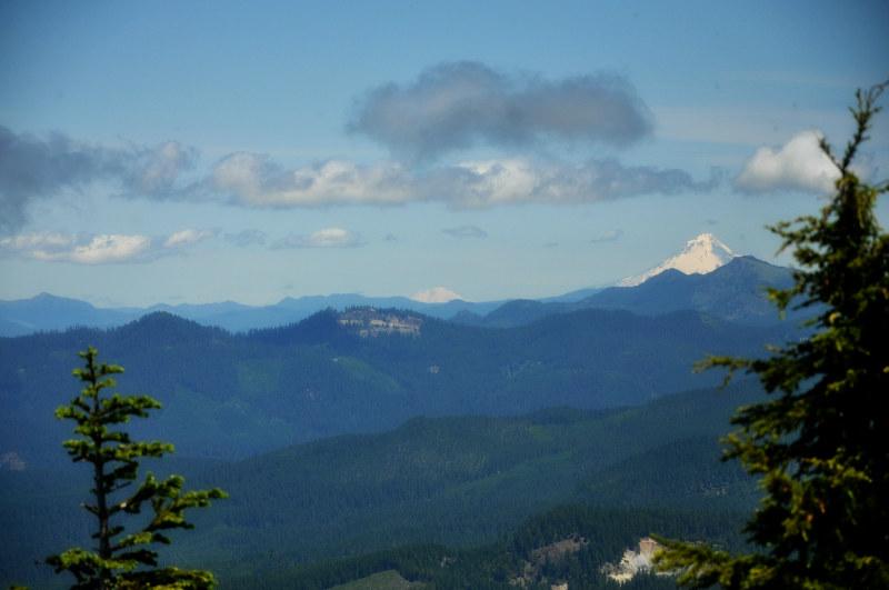 Iron Mountain Hike Mounts Hood and Adams @ Mt. Hope Chronicles