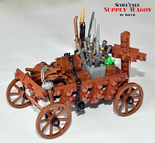 Scoia'tael Supply Wagon 02 Side | by kocurvelox