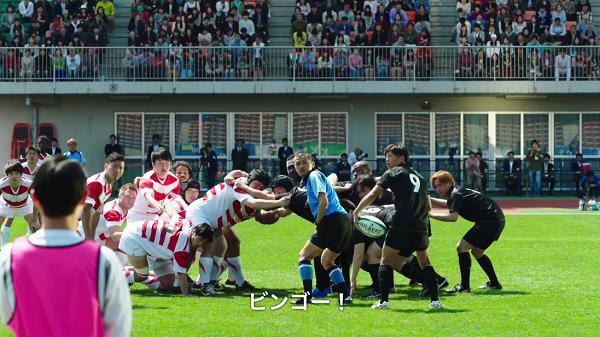 BINGO5の新CM「ラグビー試合中!」篇にカミナリの竹内まなぶ、石田たくみが出演
