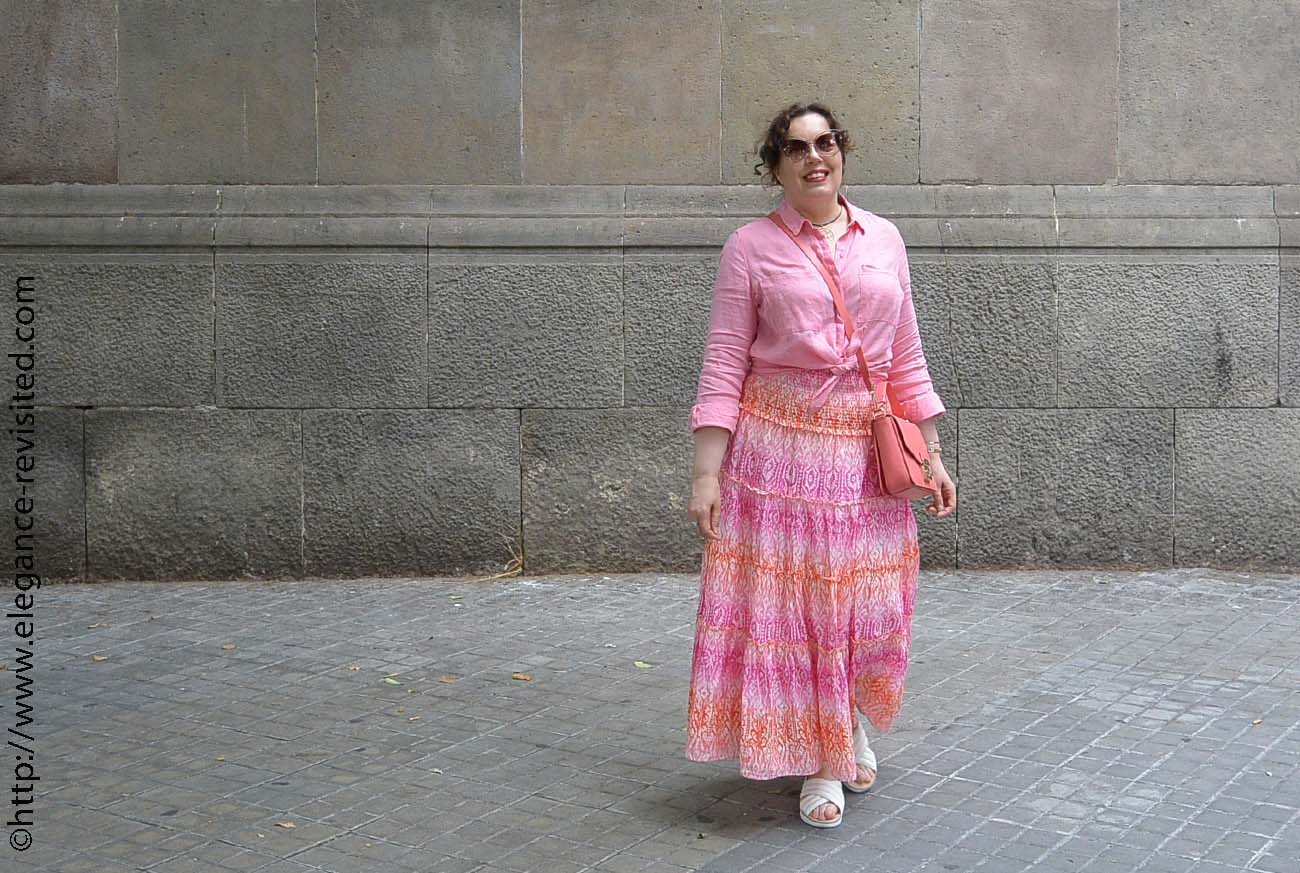 how to wear pastels over 50