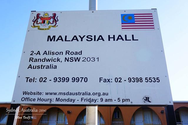 Malaysia Hall Sydney Australia 02