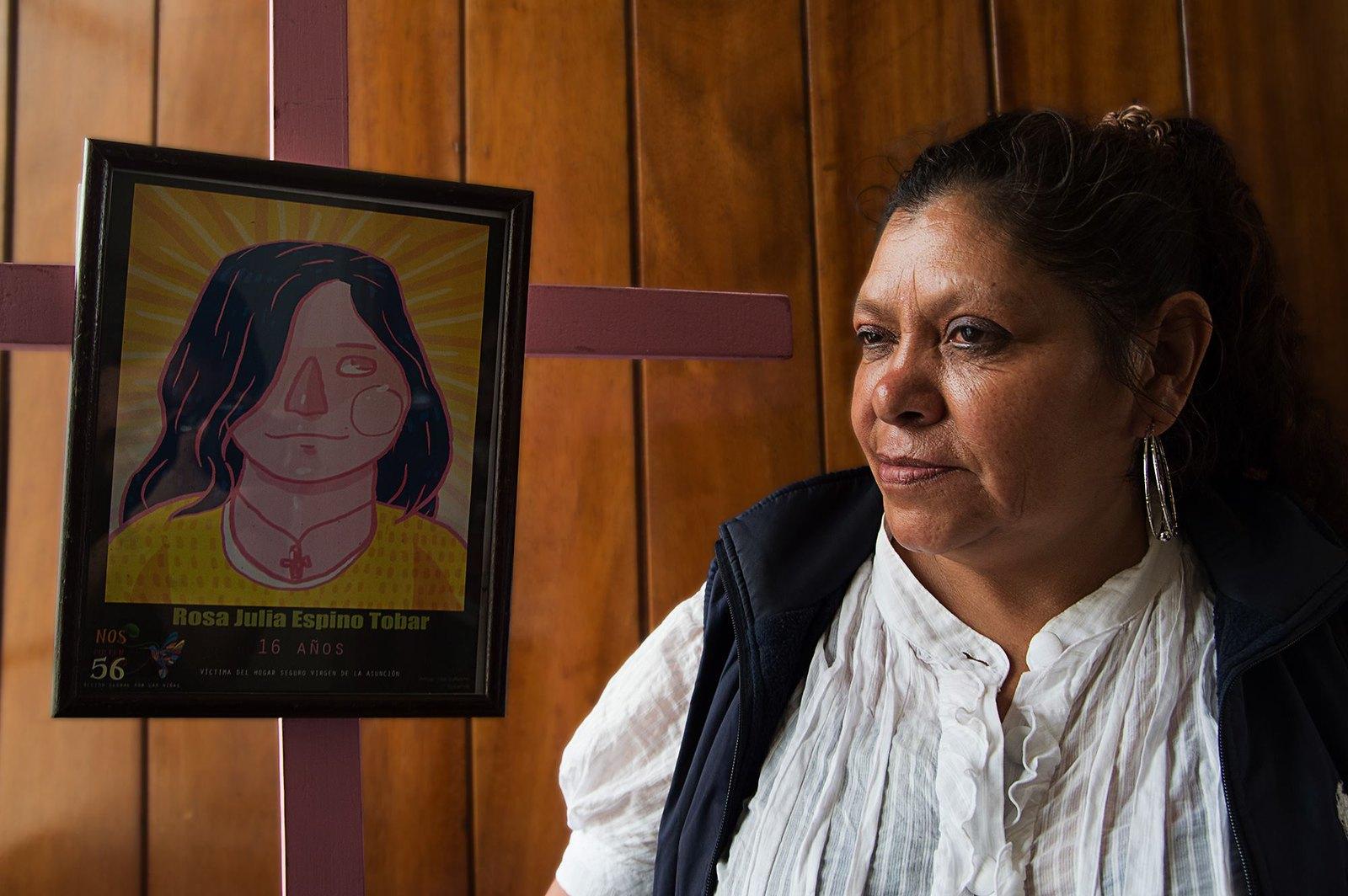 Rosa Tobar es mdre de Rosa Julio Espino Tobar de 16 años