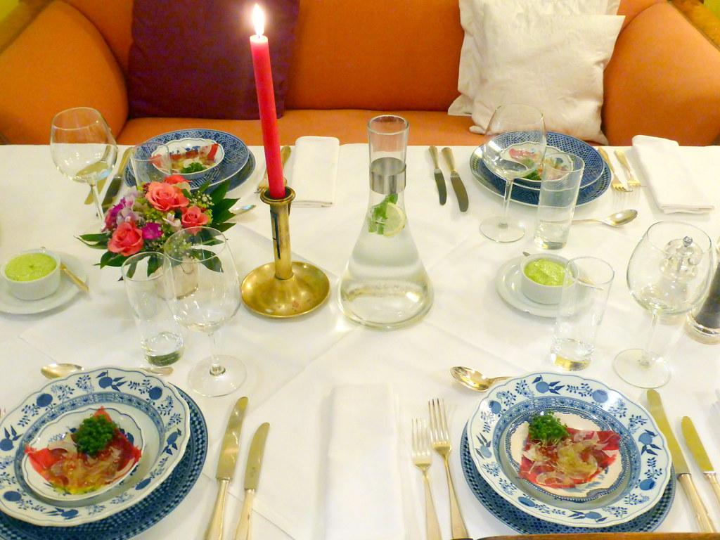 Monika Fuchs Restaurant Im Wohnzimmer